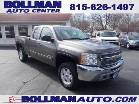 2013 Chevrolet Silverado 1500 for sale at Bollman Auto Center in Rock Falls IL