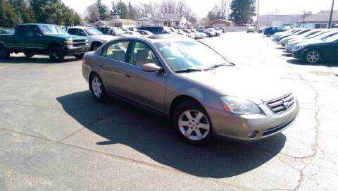 2003 Nissan Altima for sale at All State Auto Sales, INC in Kentwood MI