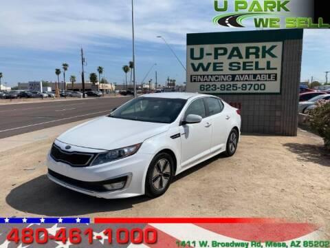 2013 Kia Optima Hybrid for sale at UPARK WE SELL AZ in Mesa AZ