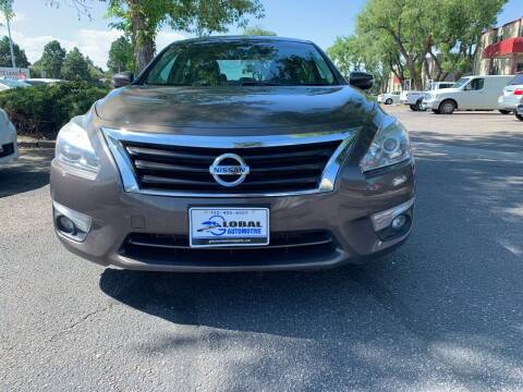 2015 Nissan Altima for sale at Global Automotive Imports of Denver in Denver CO