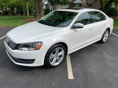 2014 Volkswagen Passat for sale at On The Circuit Cars & Trucks in York PA