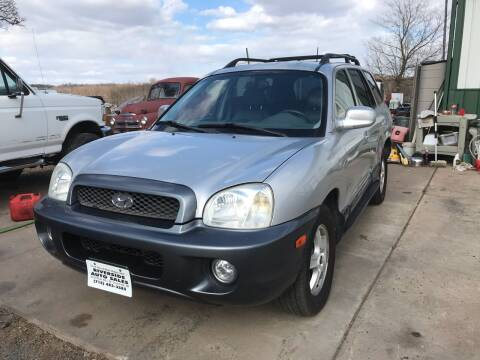 2004 Hyundai Santa Fe for sale at Riverside Auto Sales in Saint Croix Falls WI