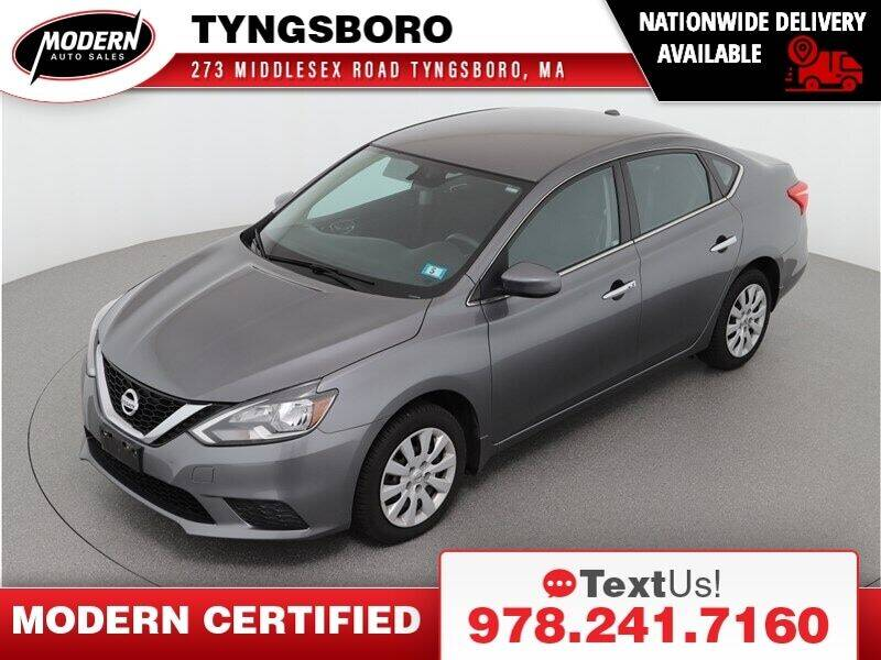 2016 Nissan Sentra for sale at Modern Auto Sales in Tyngsboro MA