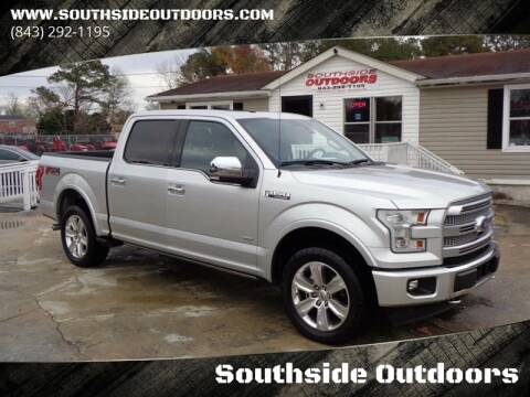 2017 Ford F-150 for sale at Southside Outdoors in Turbeville SC
