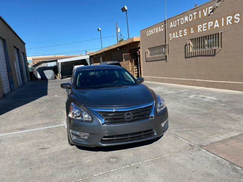 2015 Nissan Altima for sale at CONTRACT AUTOMOTIVE in Las Vegas NV