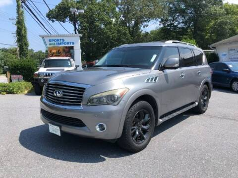 2011 Infiniti QX56 for sale at Sports & Imports in Pasadena MD