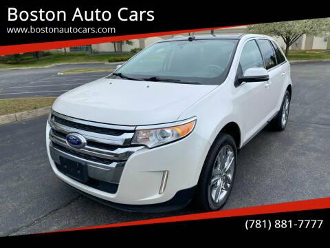 2012 Ford Edge for sale at Boston Auto Cars in Dedham MA
