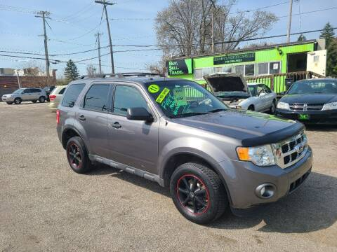 2011 Ford Escape for sale at Johnny's Motor Cars in Toledo OH