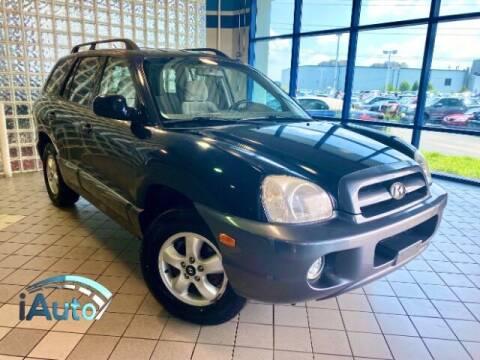2005 Hyundai Santa Fe for sale at iAuto in Cincinnati OH