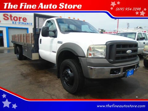 2005 Ford F-550 Super Duty for sale at The Fine Auto Store in Imperial Beach CA