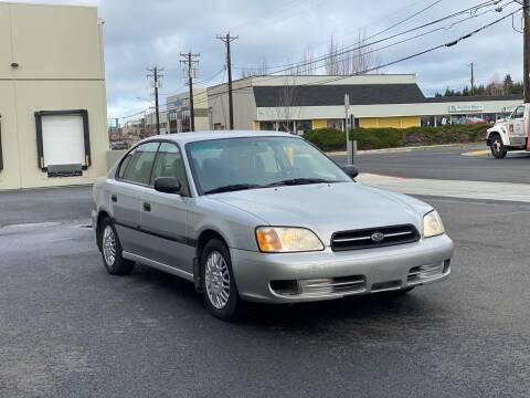2002 Subaru Legacy for sale at Washington Auto Sales in Tacoma WA