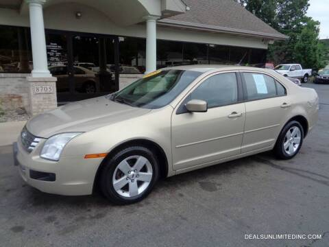 2008 Ford Fusion for sale at DEALS UNLIMITED INC in Portage MI