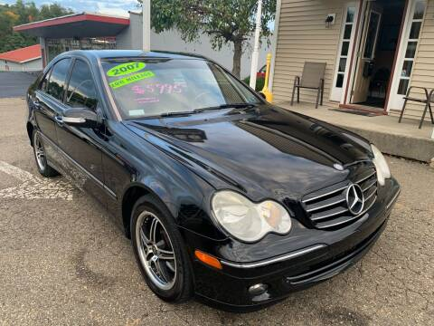 2007 Mercedes-Benz C-Class for sale at G & G Auto Sales in Steubenville OH