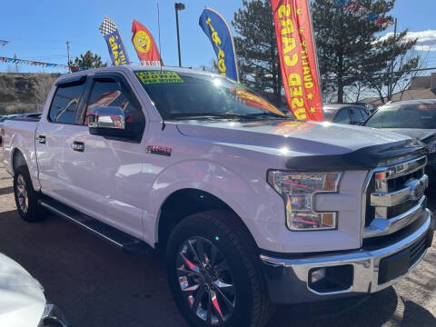 2017 Ford F-150 for sale at Duke City Auto LLC in Gallup NM