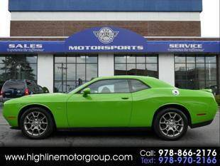 2017 Dodge Challenger for sale at Highline Group Motorsports in Lowell MA