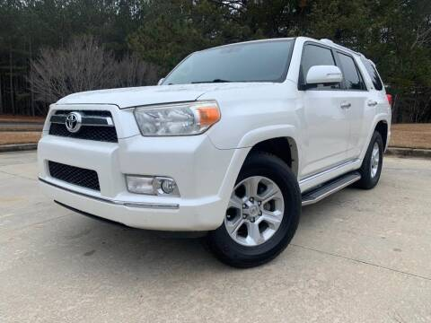 2012 Toyota 4Runner for sale at el camino auto sales in Gainesville GA
