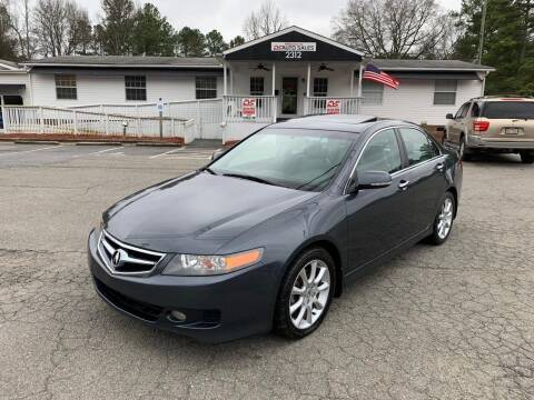 2006 Acura TSX for sale at CVC AUTO SALES in Durham NC