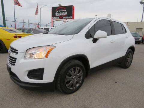 2015 Chevrolet Trax for sale at Moving Rides in El Paso TX