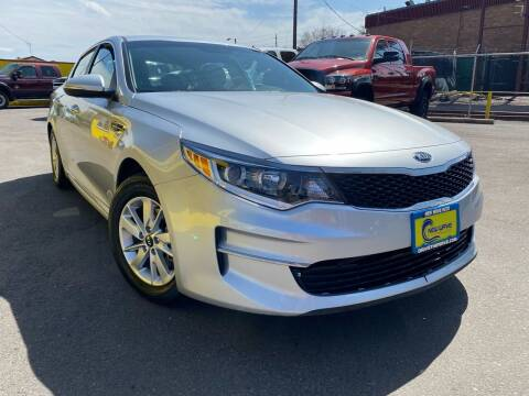 2017 Kia Optima for sale at New Wave Auto Brokers & Sales in Denver CO