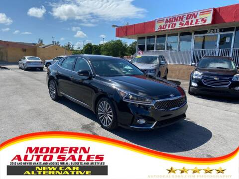 2017 Kia Cadenza for sale at Modern Auto Sales in Hollywood FL