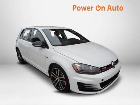 2017 Volkswagen Golf GTI for sale at Power On Auto LLC in Monroe NC