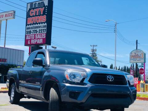 2013 Toyota Tacoma for sale at City Motors in Hayward CA