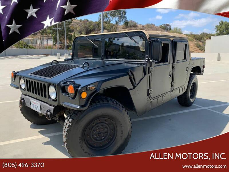 1992 AM General Hummer for sale at Allen Motors, Inc. in Thousand Oaks CA