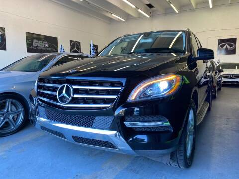 2013 Mercedes-Benz M-Class for sale at GCR MOTORSPORTS in Hollywood FL