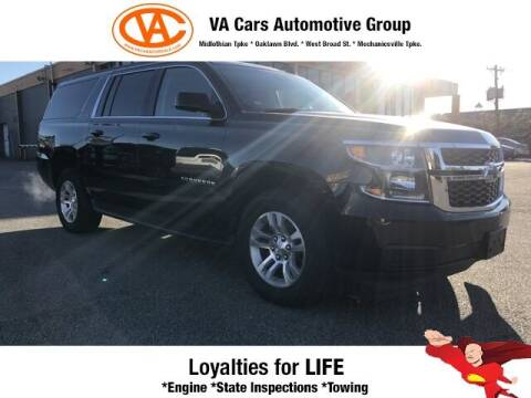 2017 Chevrolet Suburban for sale at VA Cars Inc in Richmond VA