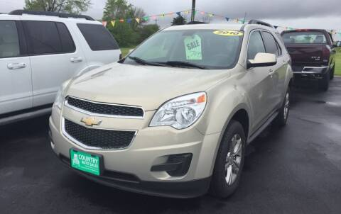 2010 Chevrolet Equinox for sale at COUNTRY AUTO SALES LLC in Greenville OH