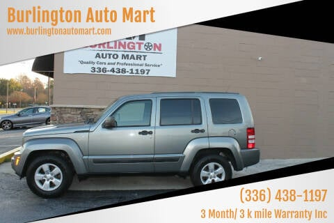 2012 Jeep Liberty for sale at Burlington Auto Mart in Burlington NC