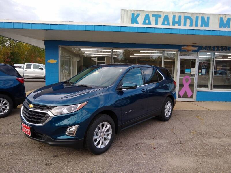 2020 Chevrolet Equinox for sale at KATAHDIN MOTORS INC /  Chevrolet & Cadillac in Millinocket ME
