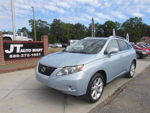 2010 Lexus RX 350 for sale at J T Auto Group in Sanford NC