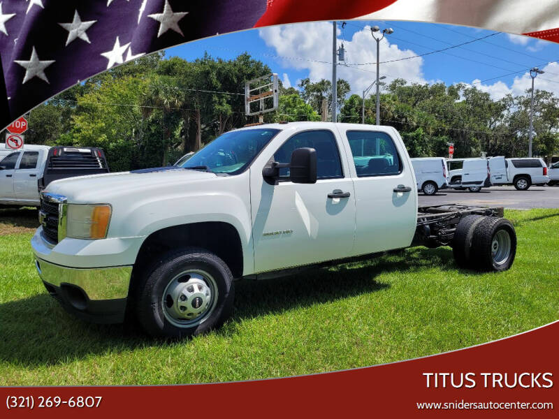 2014 GMC Sierra 3500 Pickup Cab-Ch 137 for sale at Titus Trucks in Titusville FL