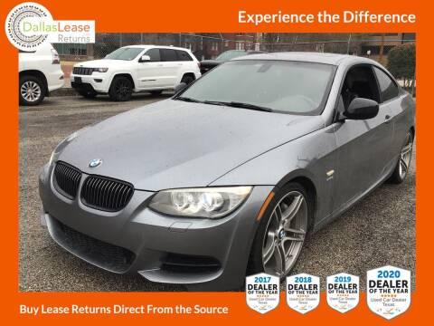 2012 BMW 3 Series for sale at Dallas Auto Finance in Dallas TX