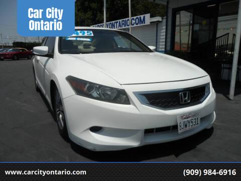 2008 Honda Accord for sale at Car City Ontario in Ontario CA