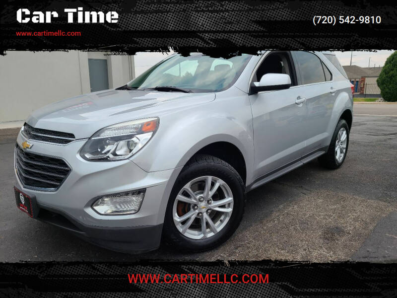 2016 Chevrolet Equinox for sale at Car Time in Denver CO