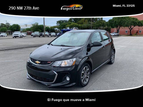 2018 Chevrolet Sonic for sale at Fuego's Cars in Miami FL