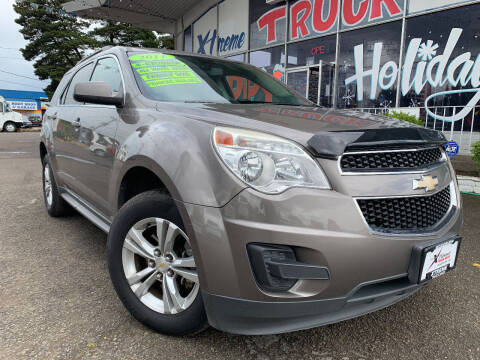 2011 Chevrolet Equinox for sale at Xtreme Truck Sales in Woodburn OR