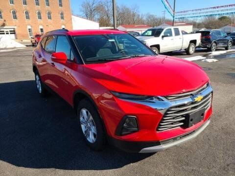 2021 Chevrolet Blazer for sale at LeMond's Chevrolet Chrysler in Fairfield IL