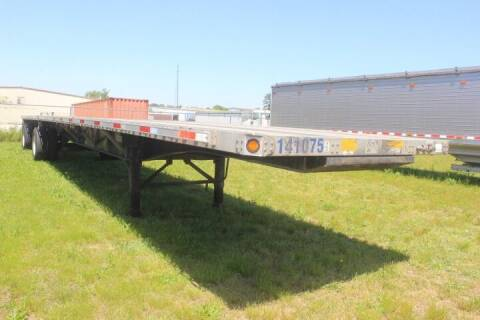 2014 Utility Flatbed for sale at WILSON TRAILER SALES AND SERVICE, INC. in Wilson NC