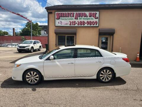 2011 Toyota Avalon for sale at SELLECT AUTO INC in Philadelphia PA