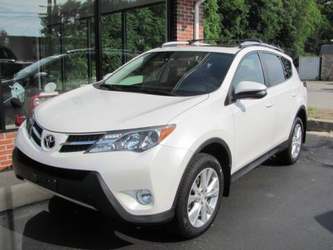 2014 Toyota RAV4 for sale at Kens Auto Sales in Holyoke MA
