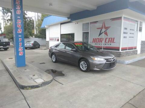 2016 Toyota Camry for sale at Nor Cal Auto Center in Anderson CA