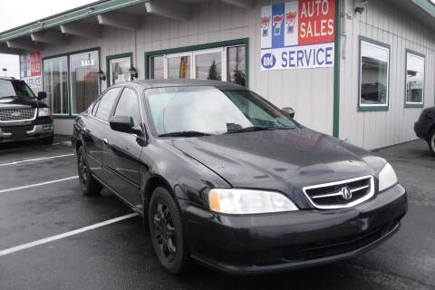 2000 Acura TL for sale at 777 Auto Sales and Service in Tacoma WA