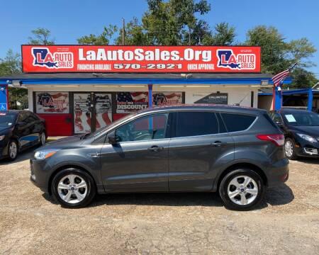 2016 Ford Escape for sale at LA Auto Sales in Monroe LA