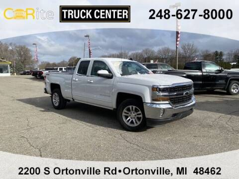 2018 Chevrolet Silverado 1500 for sale at Carite Truck Center in Ortonville MI