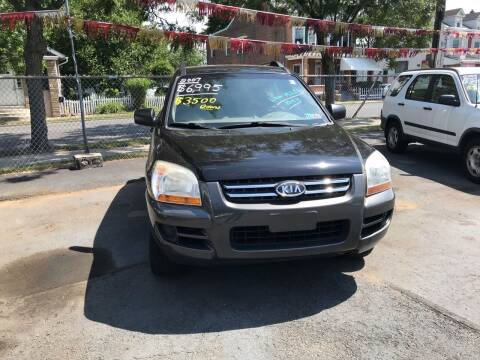 2007 Kia Sportage for sale at Chambers Auto Sales LLC in Trenton NJ