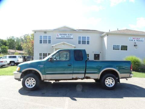 1998 Ford F-250 for sale at SOUTHERN SELECT AUTO SALES in Medina OH