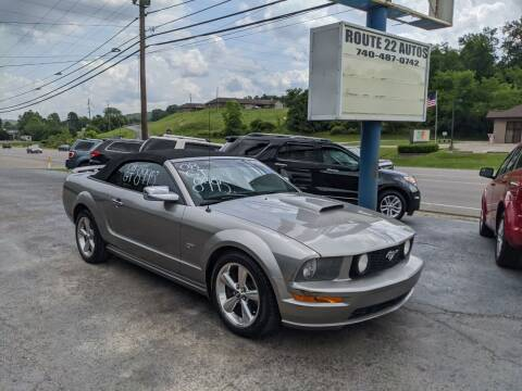2008 Ford Mustang for sale at Route 22 Autos in Zanesville OH